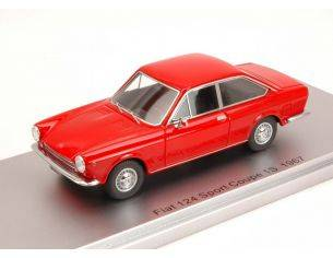 Kess Model KS43010110 FIAT 124 SPORT COUPE' 1S 1967 RED ED.LIM.PCS 250 1:43 Modellino