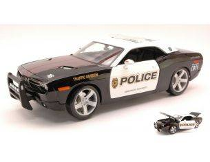 Maisto MI31365 DODGE CHALLENGER POLICE 1:18 Modellino