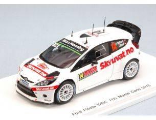 Spark Model S4509 FORD FIESTA WRC N.14 MONTE CARLO 2015 H.SOLLBERG-I.MINOR 1:43 Modellino