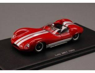 Spark Model S1128 LOLA MK1 1980 DARK RED 1:43 Modellino