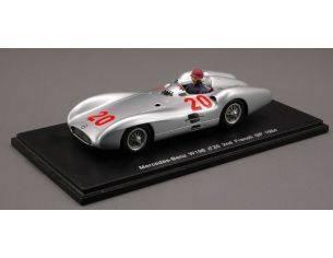 Spark Model S1036 MERCEDES K.KLING N.20 1954 1:43 Modellino