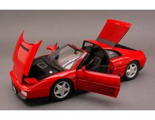 Hot Wheels Elite HWX5480 FERRARI 348 TS 1989 RED 1:18 Auto Stradali Modellino