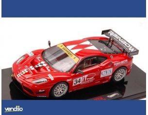 Hot Wheels HWW1193 FERRARI 430 GT3 N.34 FIA GT3 EUROP.2009 1:43 Modellino