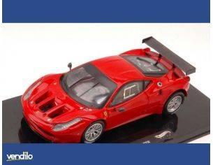 Hot Wheels HWX2861 FERRARI 458 ITALIA GT2 2011 RED 1:43 Modellino