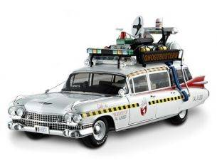 Hot Wheels Elite HWX5470 CADILLAC 1959 ECTO-1A GHOSTBUSTERS II 1:18 Modellino