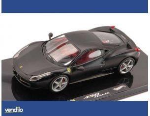 Hot Wheels HWX5503 FERRARI 458 ITALIA MATT BLACK 1:43 Modellino