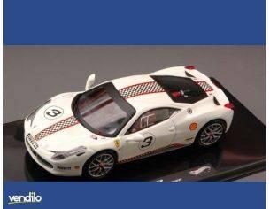 Hot Wheels HWX5505 FERRARI 458 ITALIA CHALLENGE WHITE 1:43 Modellino