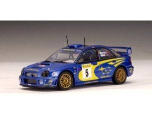 Auto Art / Gateway 60193 SUBARU IMPREZA WRC'01 1/43 n.5 BURNS Modellino