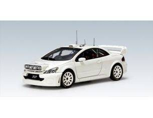 Auto Art / Gateway 60558 PEUGEOT 307 WRC '05 WHITE 1/43 PLAIN Modellino