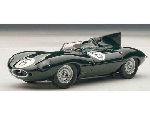 Auto Art / Gateway AA65586 JAGUAR D-TYPE N.6 WINNER LE MANS 1955 HAWTHORN-BUEB 1:43 Modellino