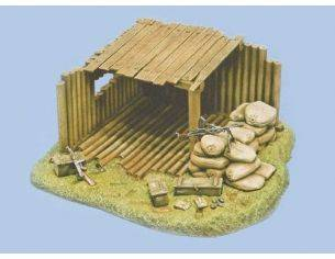 Italeri IT0417 COMMAND POST KIT 1:35 Modellino