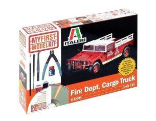 Italeri IT12004 FIRE DEPARTEMENT CARGO TRUCK KIT 1:35 Modellino