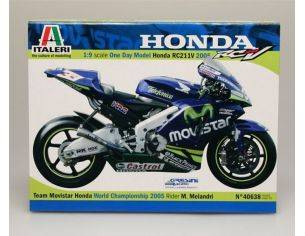 Italeri IT40638 HONDA M.MELANDRI 2005 KIT 1:24 Kit Moto