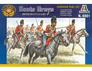 Italeri IT6001 SCOTS GREYS BRITISH HEAVYCAVALRY KIT 1:72 Modellino