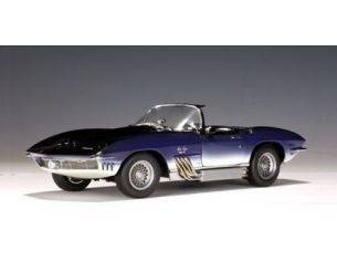 Auto Art / Gateway AA71131 CHEVROLET CORVETTE MAKO SHARK 1961 BLUE 1:18 Modellino