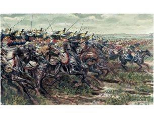 Italeri IT6084 CORAZZIERI FRANCESI NAPOLEON'S WARS KIT 1:72 Modellino