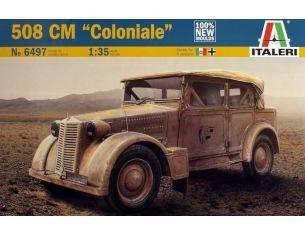 Italeri IT6497 FIAT 508 COLONIALE KIT 1:35 Modellino