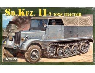 Italeri IT7016 SD KFZ 11 KIT 1:72 Modellino