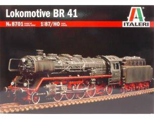 Italeri IT8701 LOKOMOTIVE BR 41 KIT 1:87 Modellino