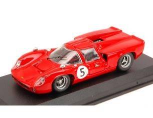 Best Model BT9582 LOLA T70 COUPE' N.5 WINNER G.P.SVEZIA 1967 Y.ROSQVIST 1:43 Modellino