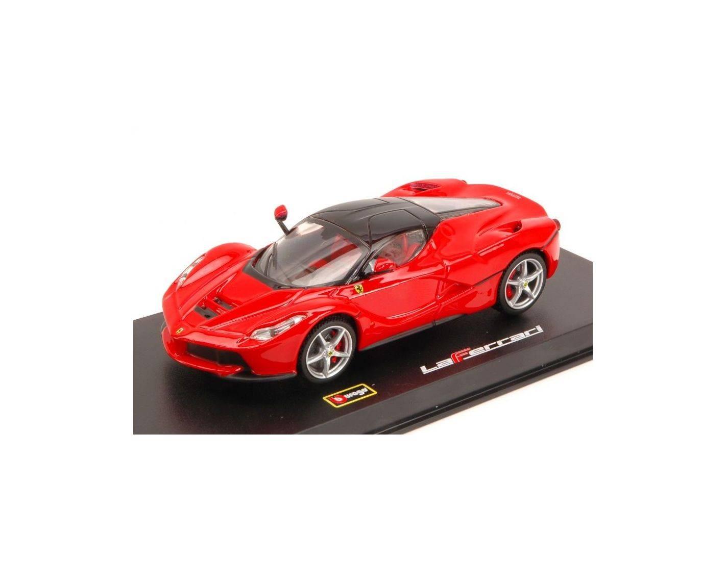 auto 1 43 bburago bu36902 signature ferrari la ferrari 2013 red 1 43 modellino modellino shop. Black Bedroom Furniture Sets. Home Design Ideas
