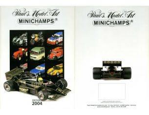 Minichamps PMCAT2004 CATALOGO MINICHAMPS 2004 EDITION 1 PAG.193 Modellino