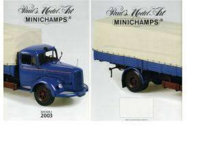 Minichamps PMCAT2003-2 CATALOGO MINICHAMPS 2003 EDITION 2 PAG.31 Modellino