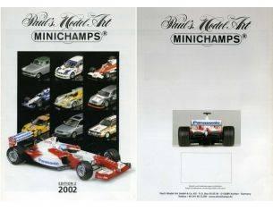 Minichamps PMCAT2002-2 CATALOGO MINICHAMPS 2002 EDITION 2 PAG.31 Modellino