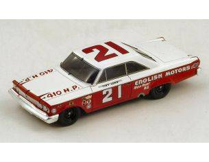 Spark Model S3600 FORD GALAXY N.21 WINNER DAYTONA 1963 T.LUND 1:43 Modellino