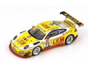 Spark Model SA074 PORSCHE GT3 R N.72 8th MACAU GP GT CUP 2014 E.BAMBER 1:43 Modellino