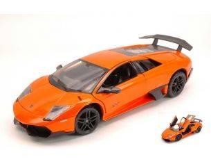 Ixo model RAT39300O LAMBORGHINI MURCIELAGO LP670-4 SV 2009 ORANGE 1:24 Modellino