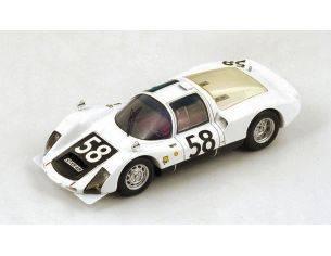 Spark Model S4491 PORSCHE 906 N.58 7th LM 1966 G.KASS-R.STOMMELEN 1:43 Modellino