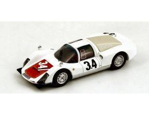 Spark Model S4490 PORSCHE 906 N.34 ACCIDENT LM 1966 R.BUCHET-G.KOCH 1:43 Modellino