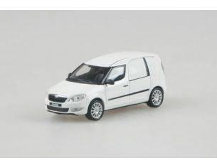 Abrex AB006E SKODA PRAKTIK 2008 WHITE CANDY 1:43 Modellino