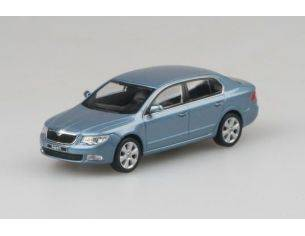Abrex AB010CE SKODA SUPERB II 2009 SATIN GREY METALLIC 1:43 Modellino