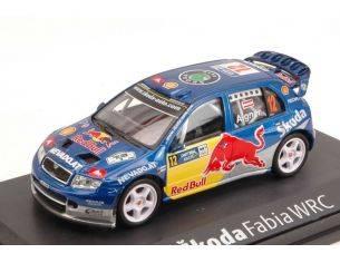 Abrex AB601TA SKODA FABIA WRC EVO II N.12 6th DEUTSCHLAND 2006 A.AIGNER-K.WICHA 1:43 Modellino
