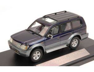 Hi Story Model Cars HS054BL TOYOTA LAND CRUISER PRADO TZ 1996 BLUE 1:43 Modellino