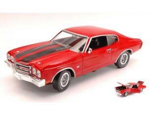 Auto World AWSS109 CHEVROLET CHEVELLE SS 1970 JACK REACHER LA PROVA DECISIVA 1:18 Modellino