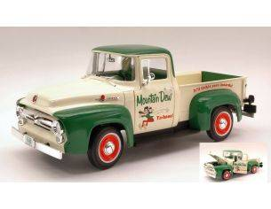 Auto World AW211 FORD F-100 1956 MOUNTAIN DEW 1:18 Modellino