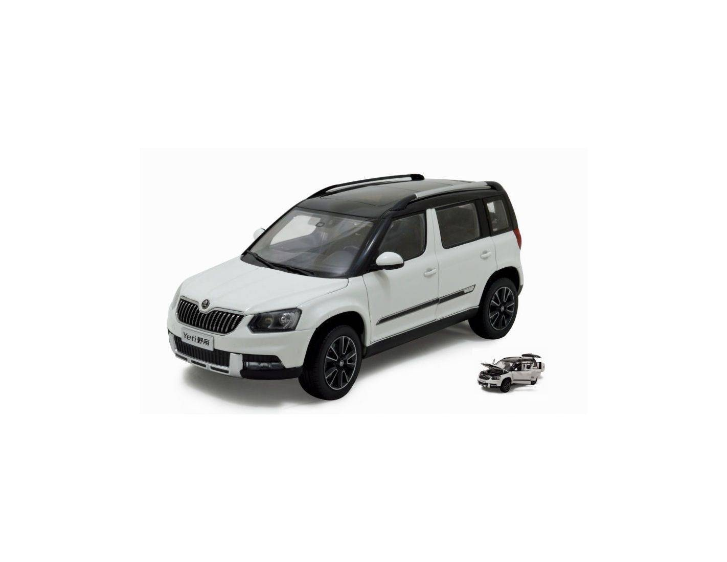 paudi model pd2309w skoda yeti 2013 white 1 18 modellino. Black Bedroom Furniture Sets. Home Design Ideas