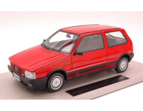 topmarques top02a fiat uno turbo i e 1986 red 1 18 modellino. Black Bedroom Furniture Sets. Home Design Ideas