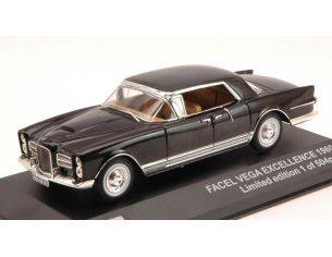 Triple 9 T9-43031 FACEL VEGA EXCELLENCE 1960 BLACK 1:43 Modellino