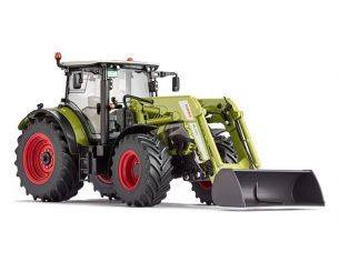 Wiking WK7325 TRATTORE CLAAS ARION 650 C/PALA FRONTALE 1:32 Modellino