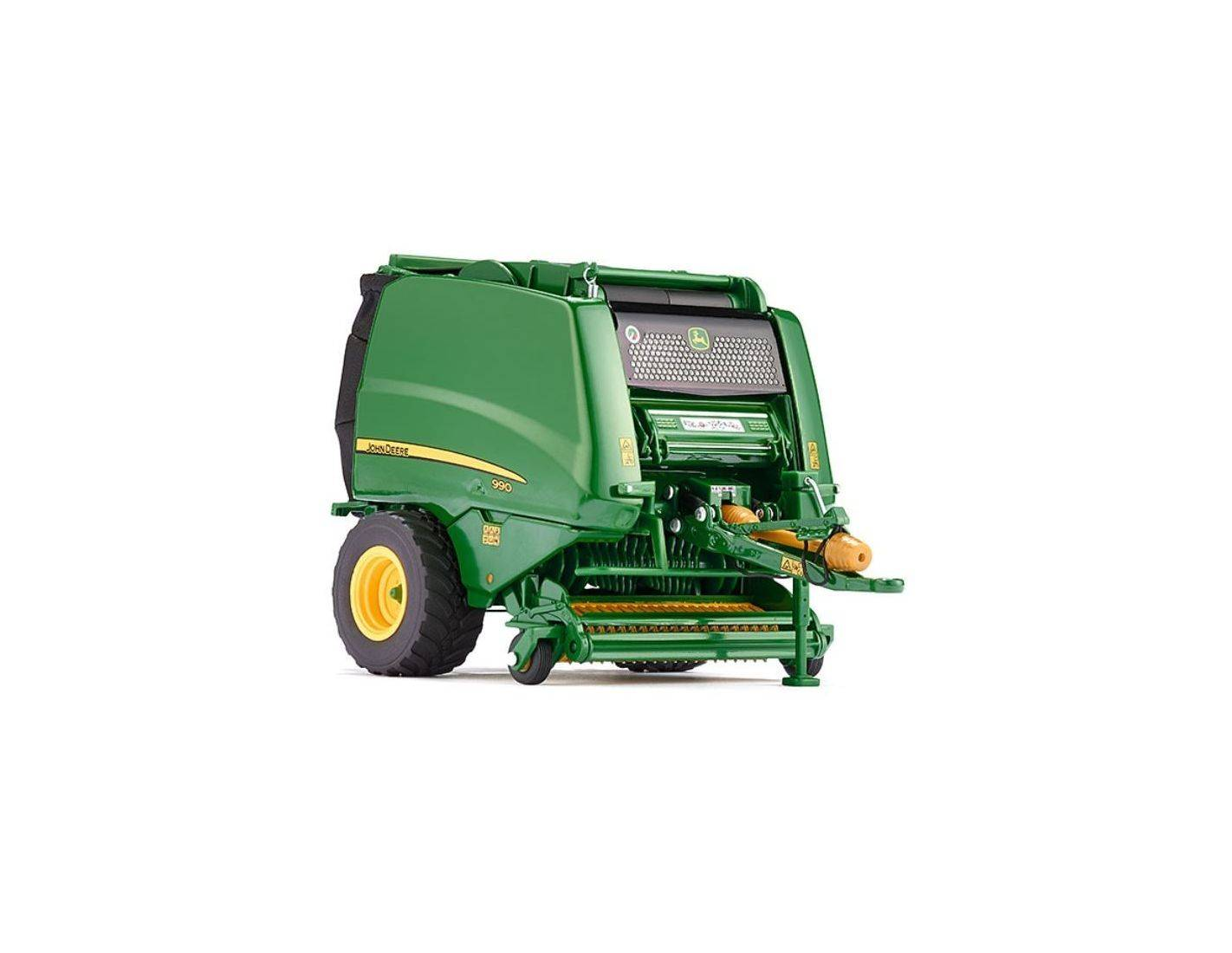 wiking wk7316 rotoball john deere 990 ma rb 1 32 modellino. Black Bedroom Furniture Sets. Home Design Ideas