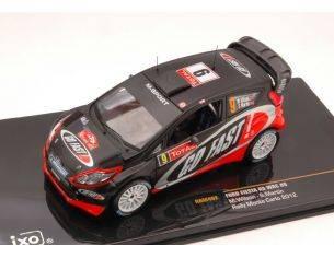 Ixo model RAM492 FORD FIESTA RS WRC N.9 11th MONTE CARLO 2012 WILSON-MARTIN 1:43 Modellino