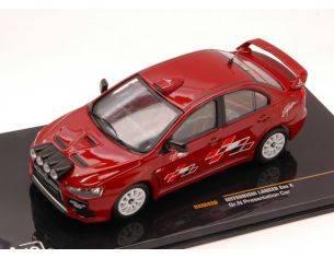 Ixo model RAM450 MITSUBISHI LANCER EVO X GR.N PRESENTATION CAR 1:43 Modellino