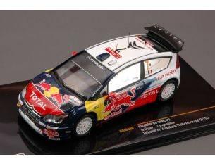 Ixo model RAM430 CITROEN C4 WRC N.7 WINNER PORTUGAL 2010 OGIER-INGRASSIA 1:43 Modellino