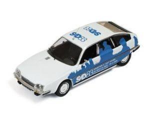 Ixo model CLC125 CITROEN CX 1983 SALON DES ARTISTS WHITE/BLUE 1:43 Modellino