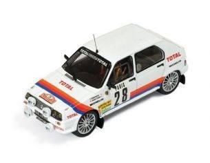 Ixo model RAC129 CITROEN VISA CHRONO N.28 BRETON/CHOMAT RALLY M.CARLO 1983 1:43 Modellino
