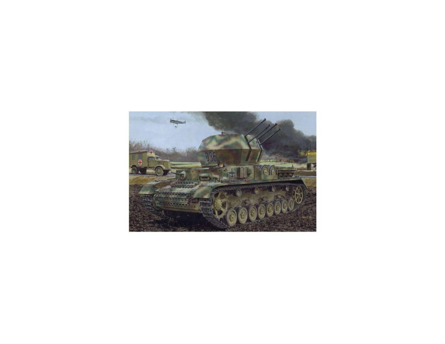 Dragon 6342 FLAKPANZER IV AUSF.G WIRBELWIND KIT 1:35 Modellino
